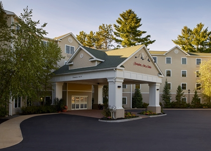Hampton Inn Conway NH outside